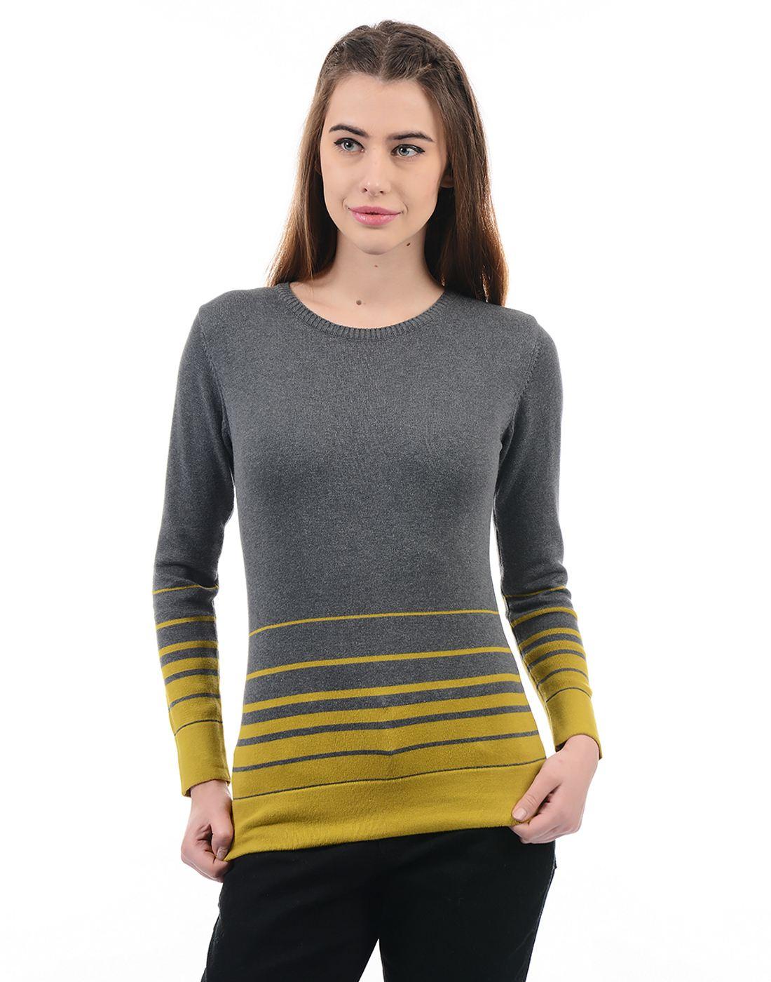 Species Women Grey Pullover