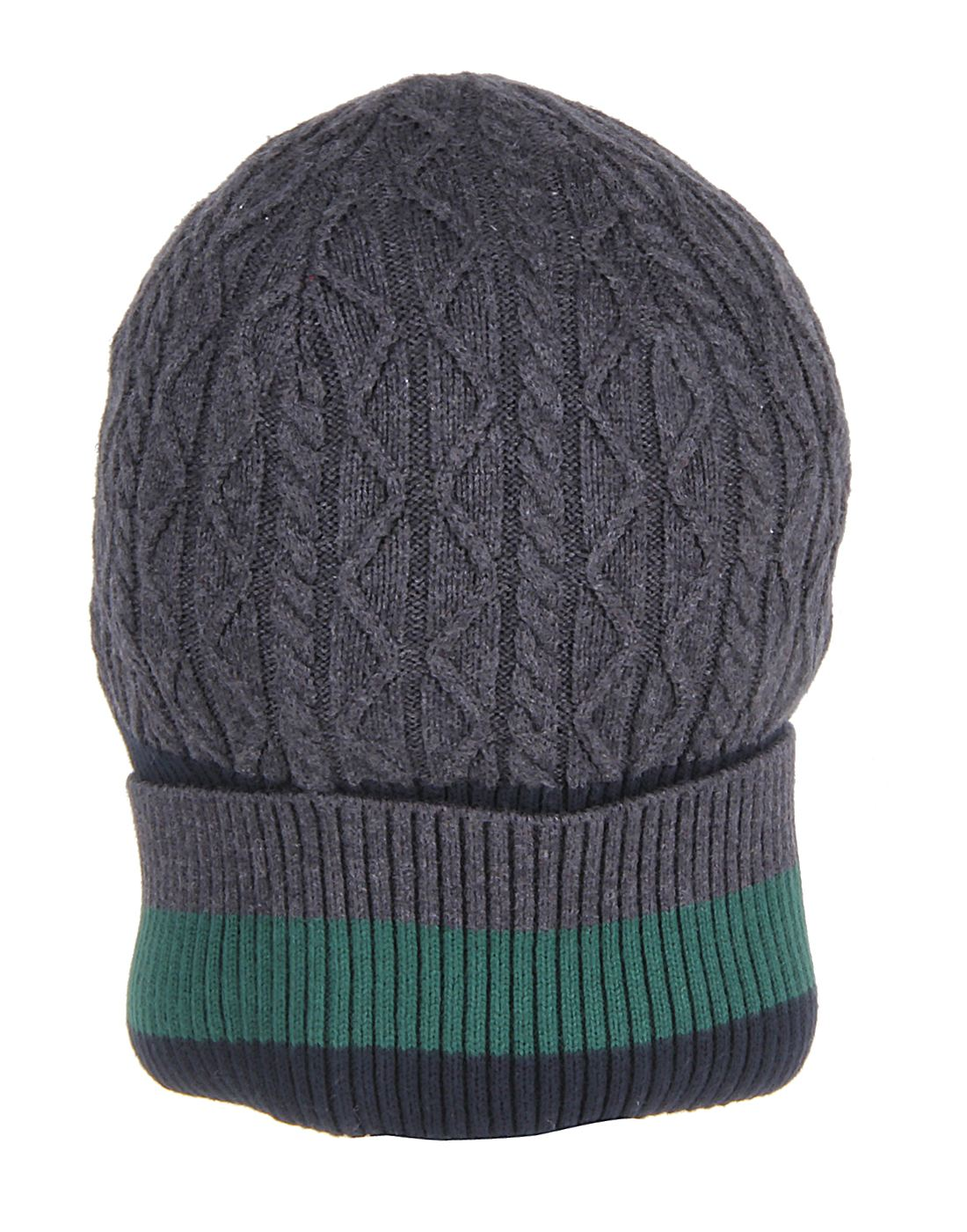 U.S. Polo Assn. Men Grey Beanie