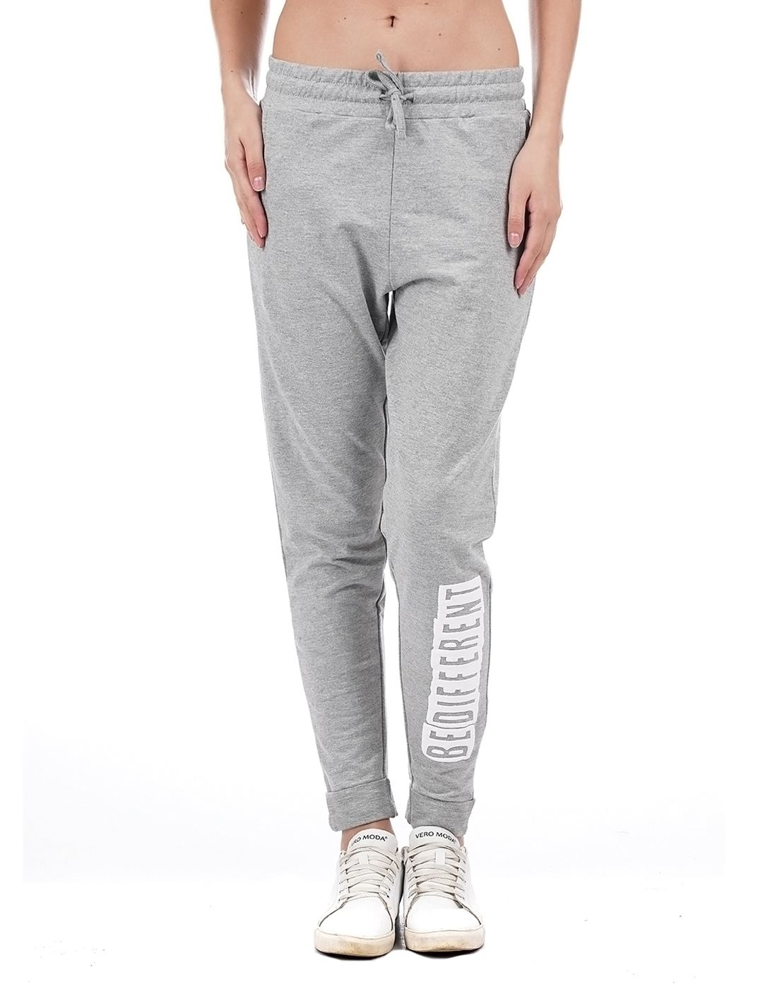 Flying Machine Women Grey Track Pant