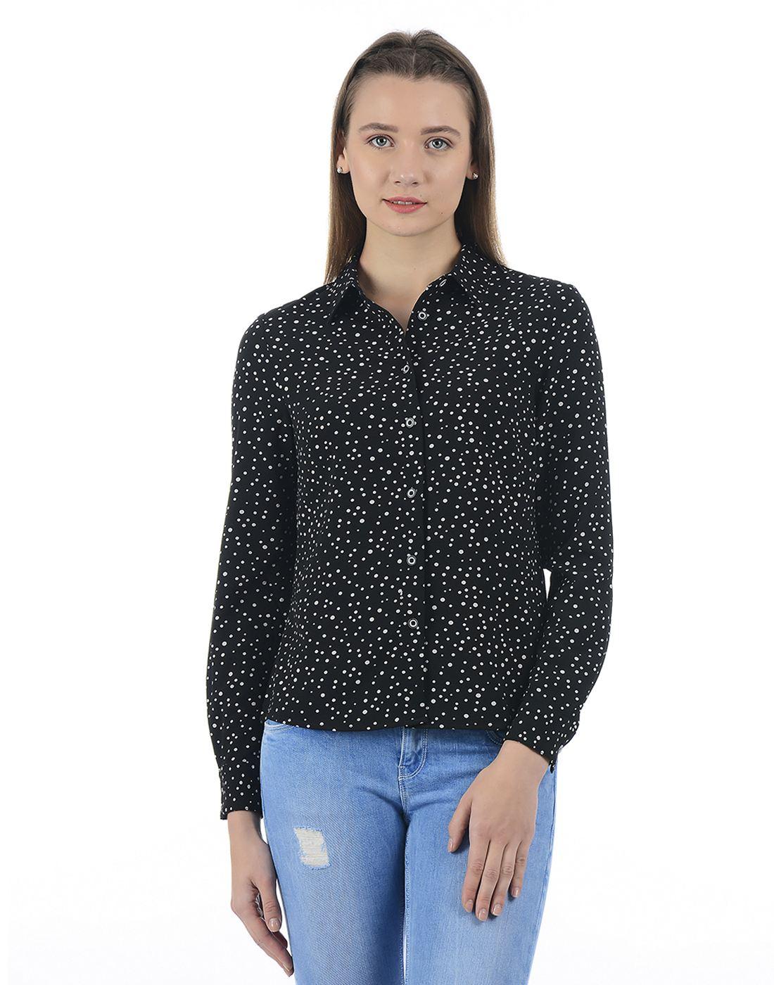 Vero Moda Women Casual Wear Printed Shirt