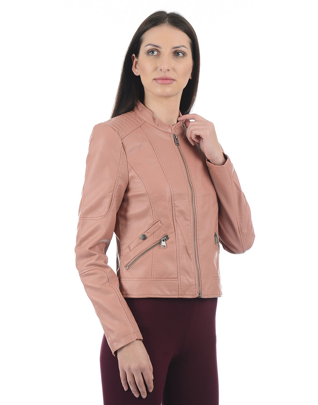 Vero Moda Women Peach Jacket