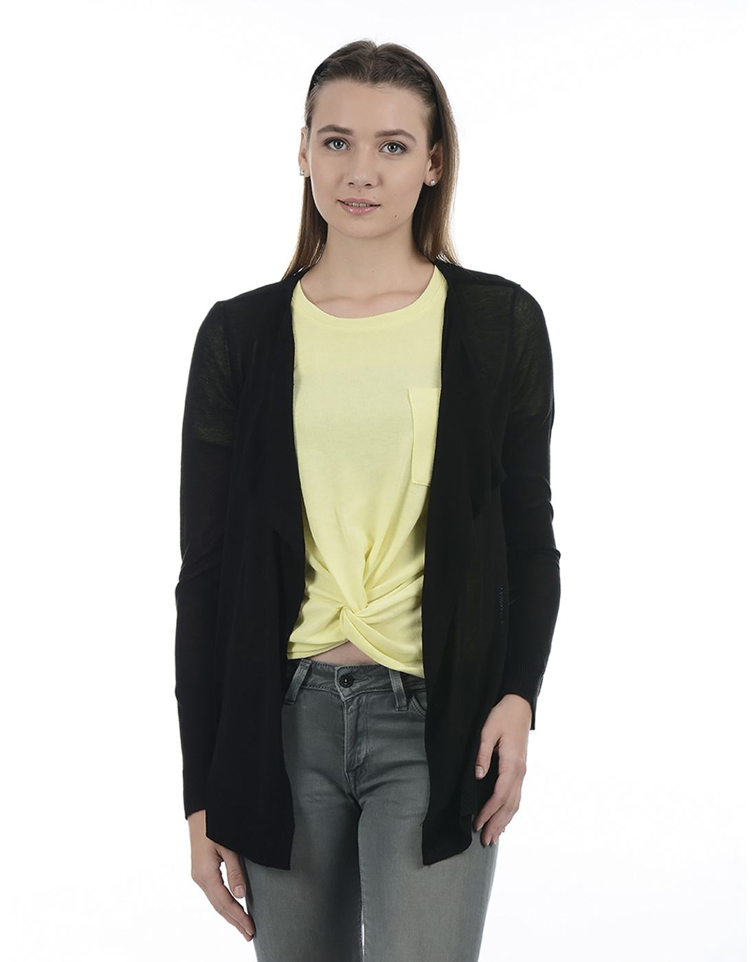 Vero Moda Women Black CARDIGAN