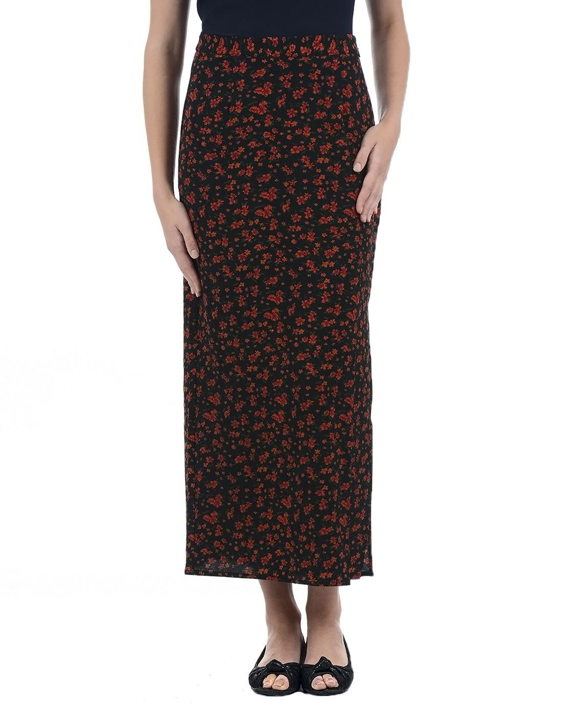 Vero Moda Women Casual Wear Printed Skirt