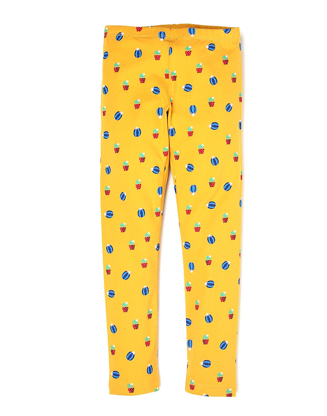 United Colors Of Benetton Girls Yellow Trousers