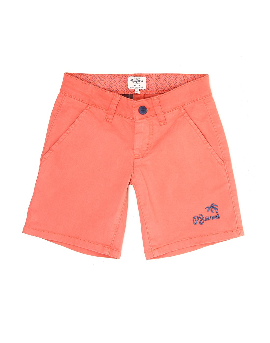Pepe Jeans Boys Solid Casual Short