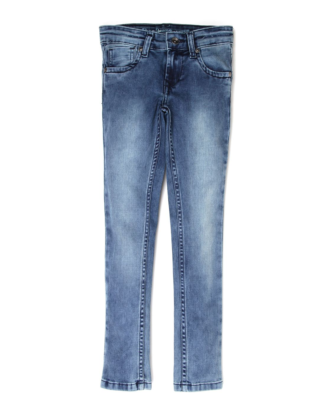 Pepe Jeans Girls Cotton Jeans