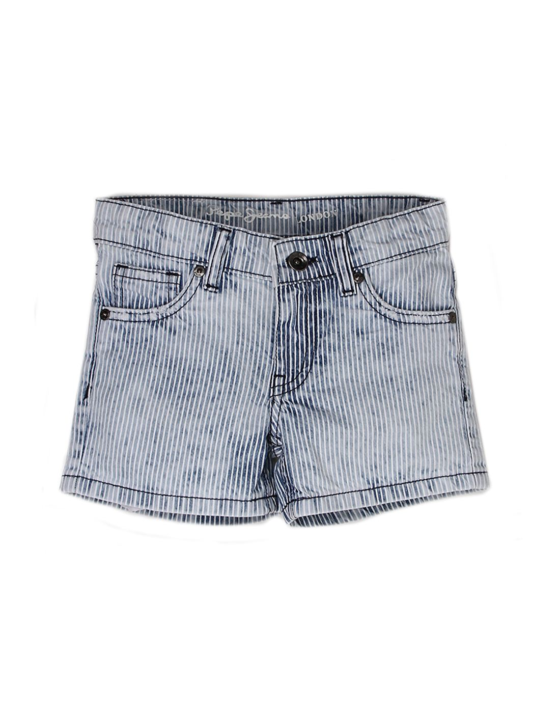 Pepe Jeans Girls Cotton Short