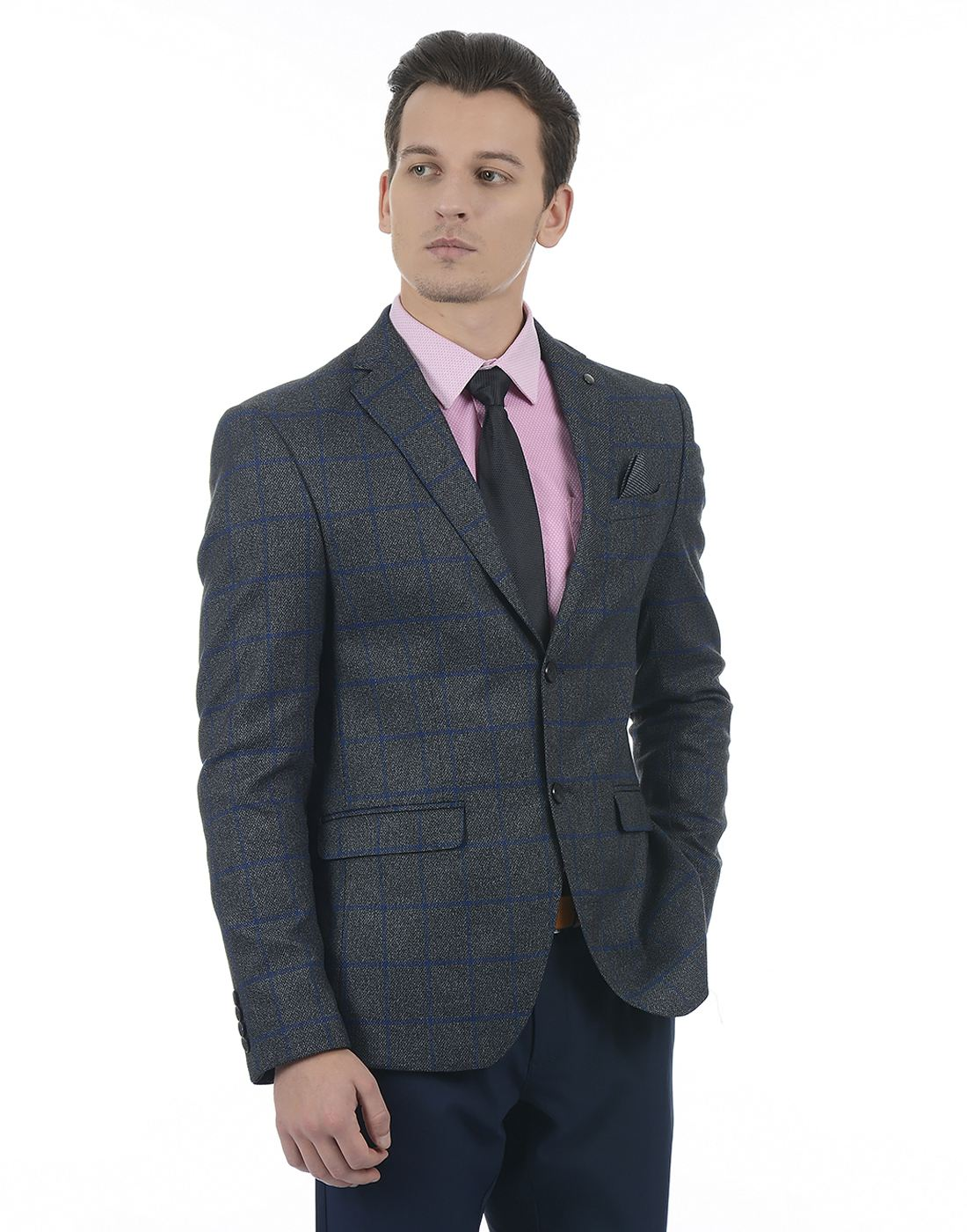Blackberrys Men Grey Blazer