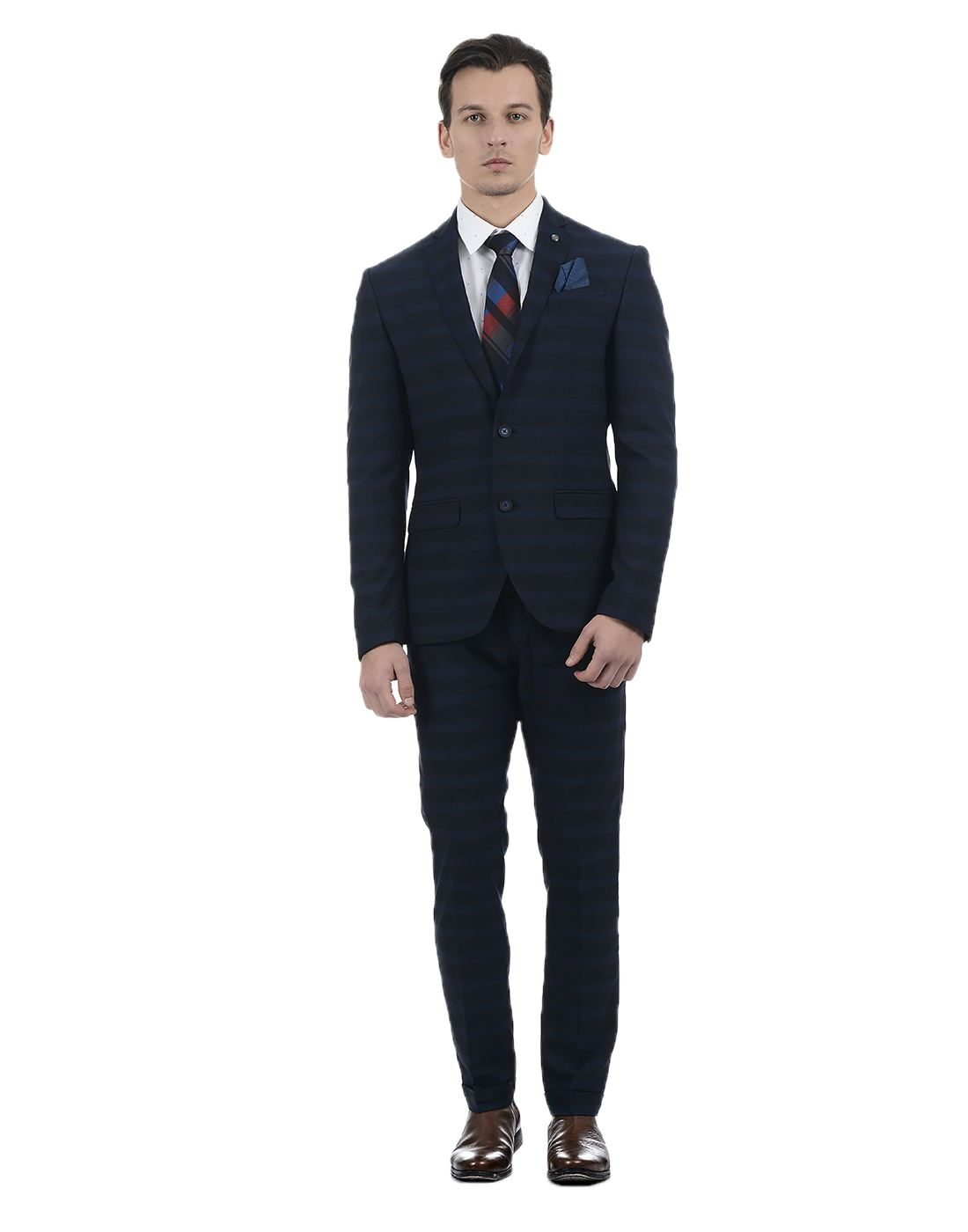 Blackberrys Men Blue Suit