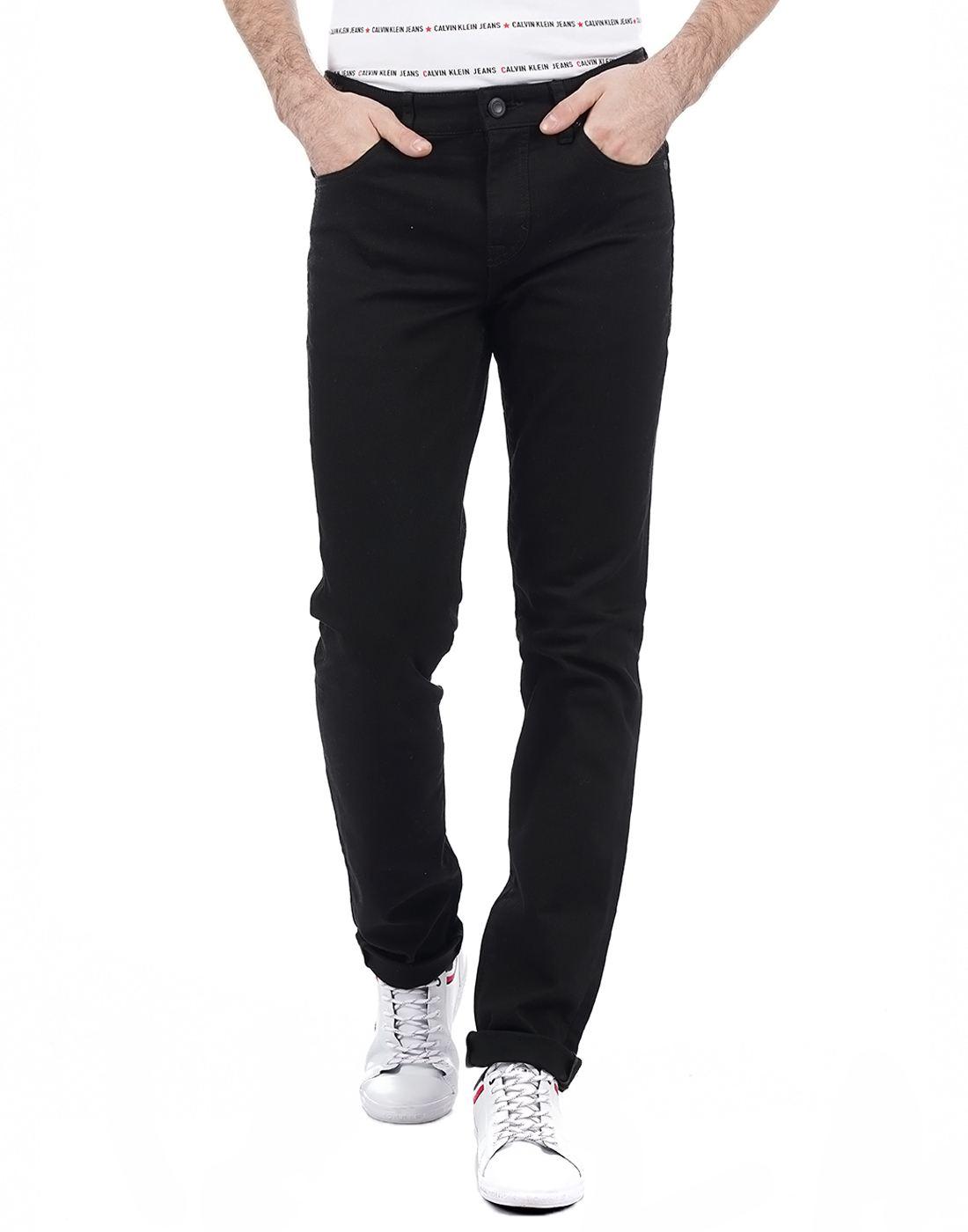Calvin Klein Men Black Jeans