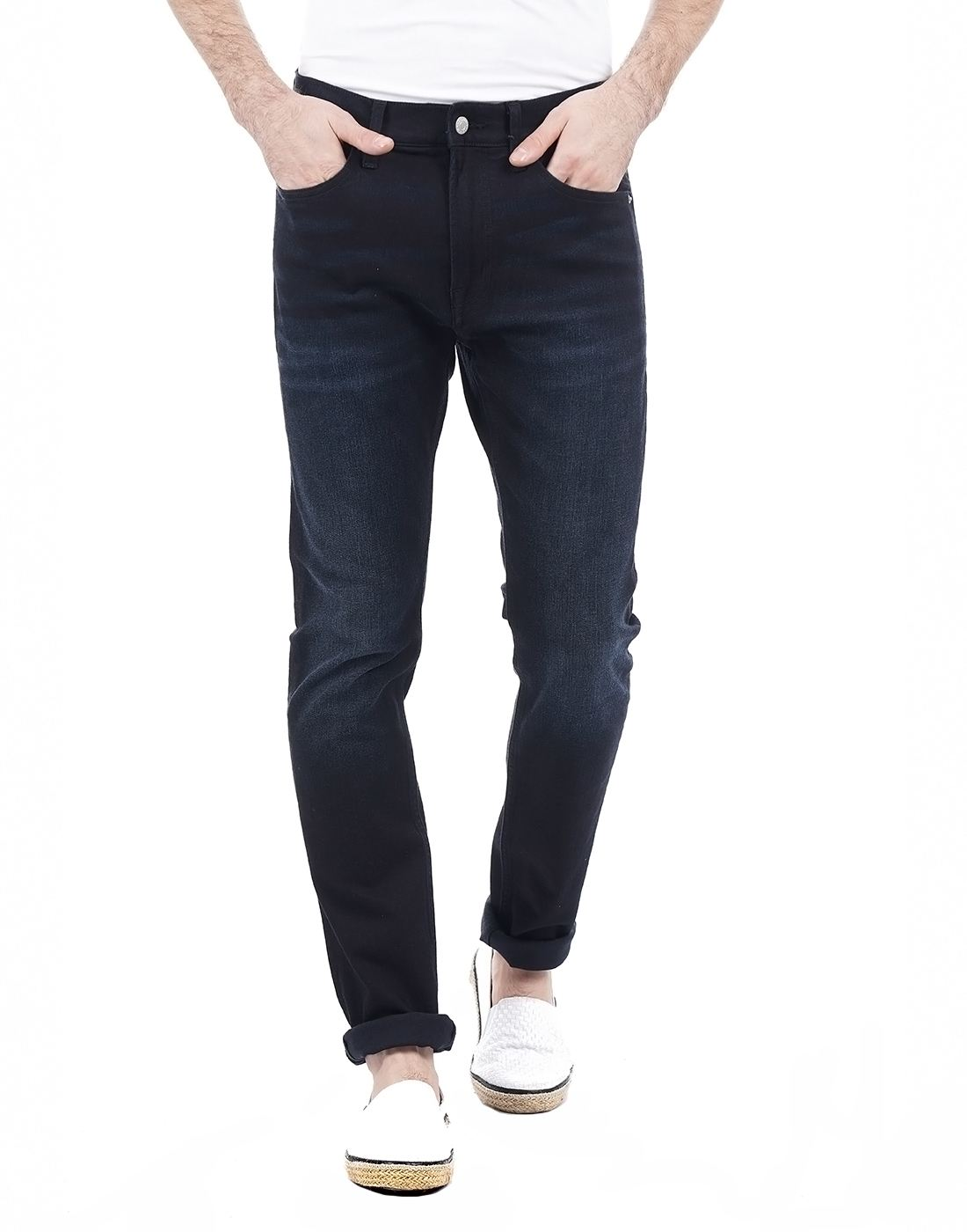 Calvin Klein Men Navy Jeans