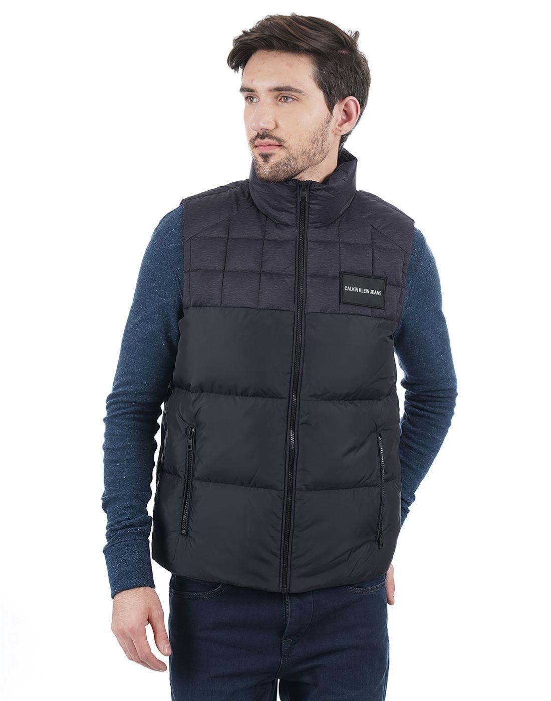 Calvin Klein Men Black Jacket