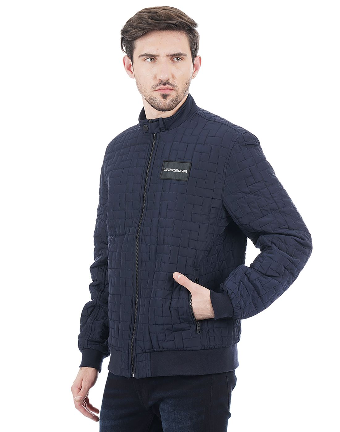 Calvin Klein Men Navy Jacket