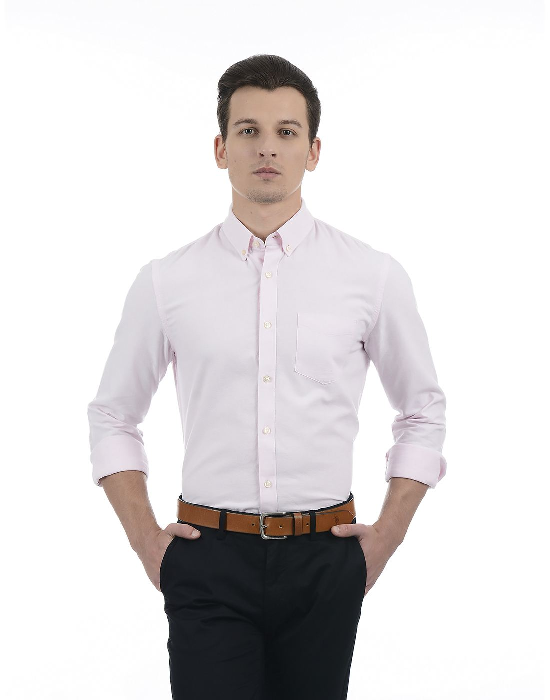 Celio Men Pink Shirt