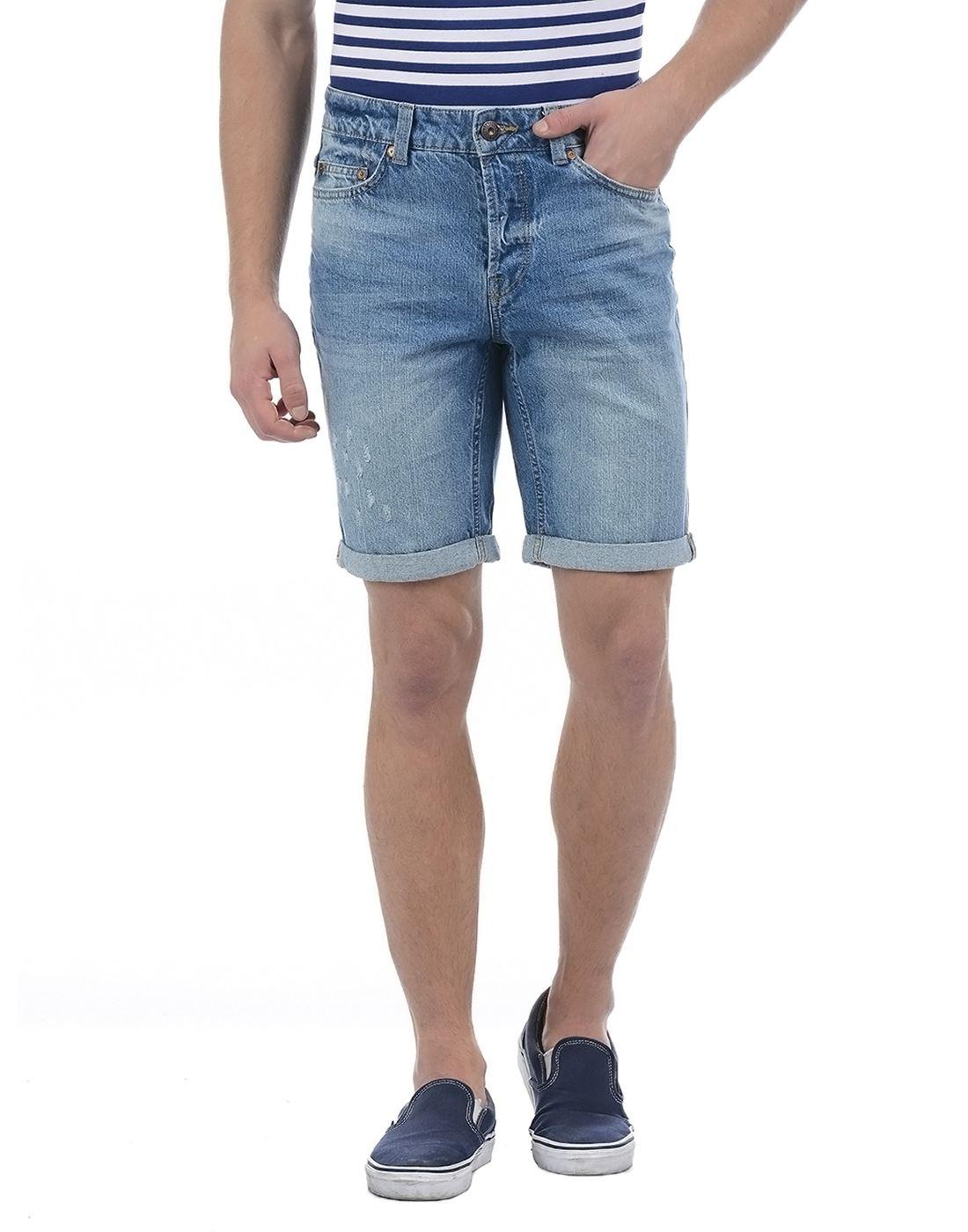 Only N Sons Men Blue Short