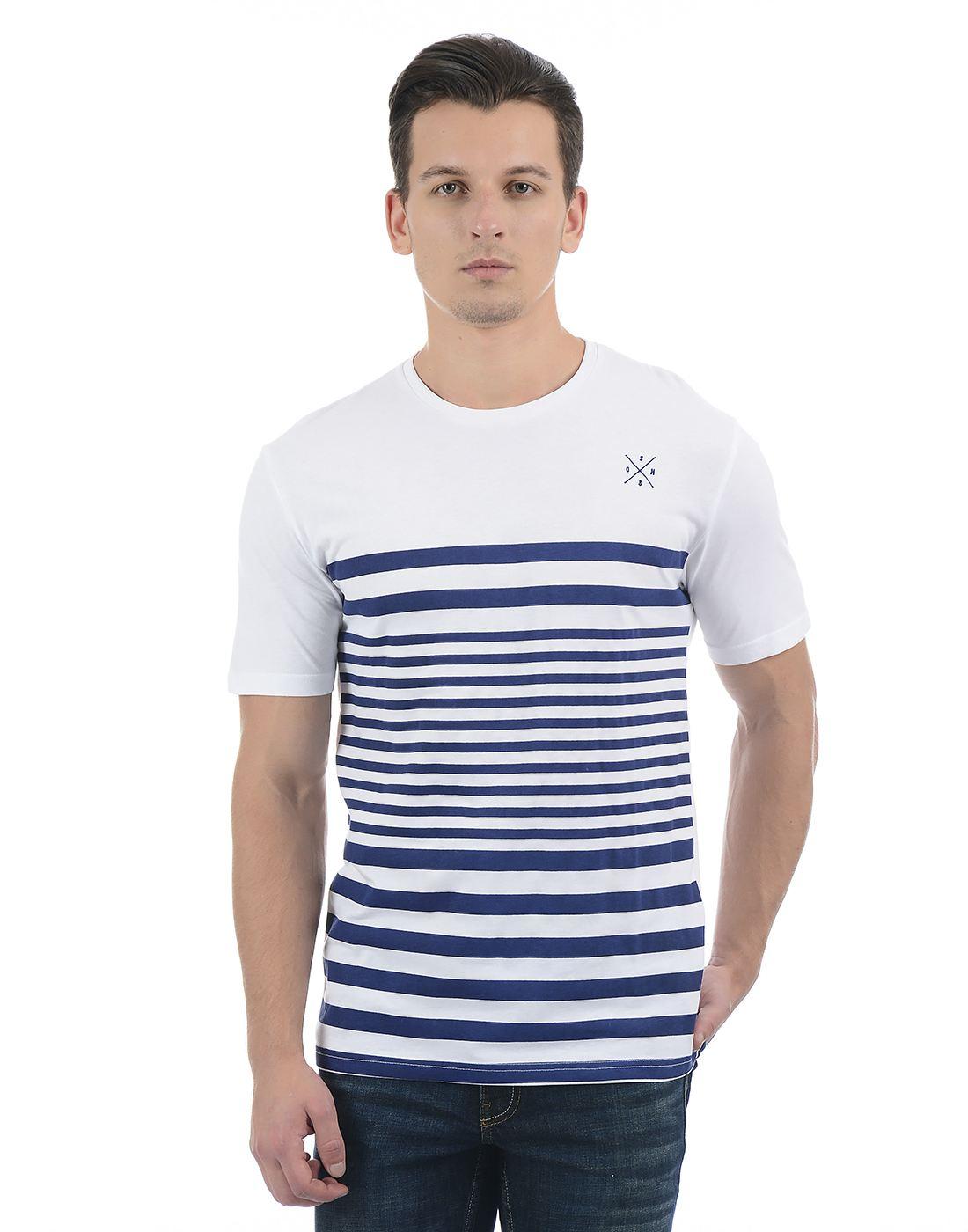 Only N Sons Men White T-shirt