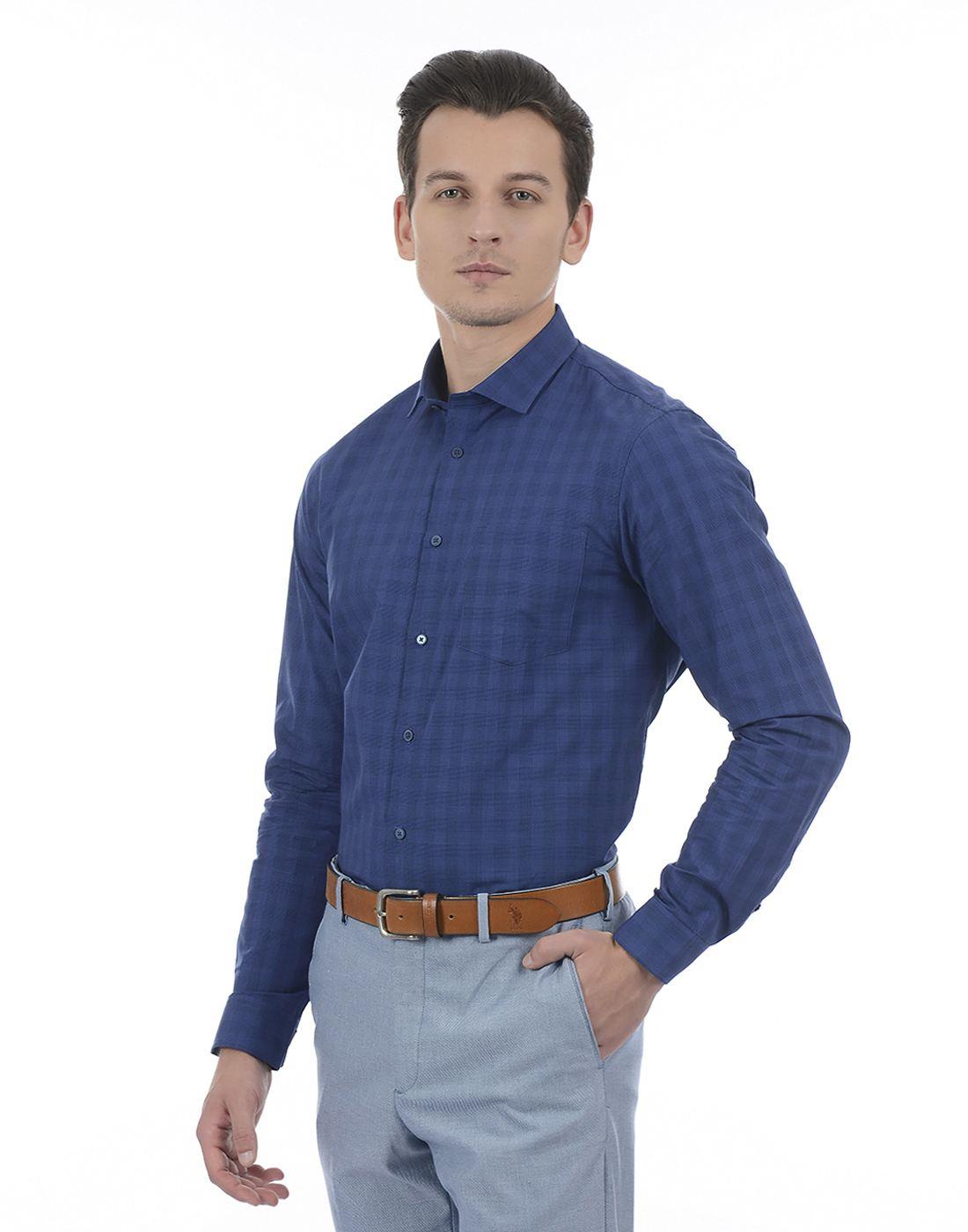 Arrow Men Formal Wear Checkered Shirt