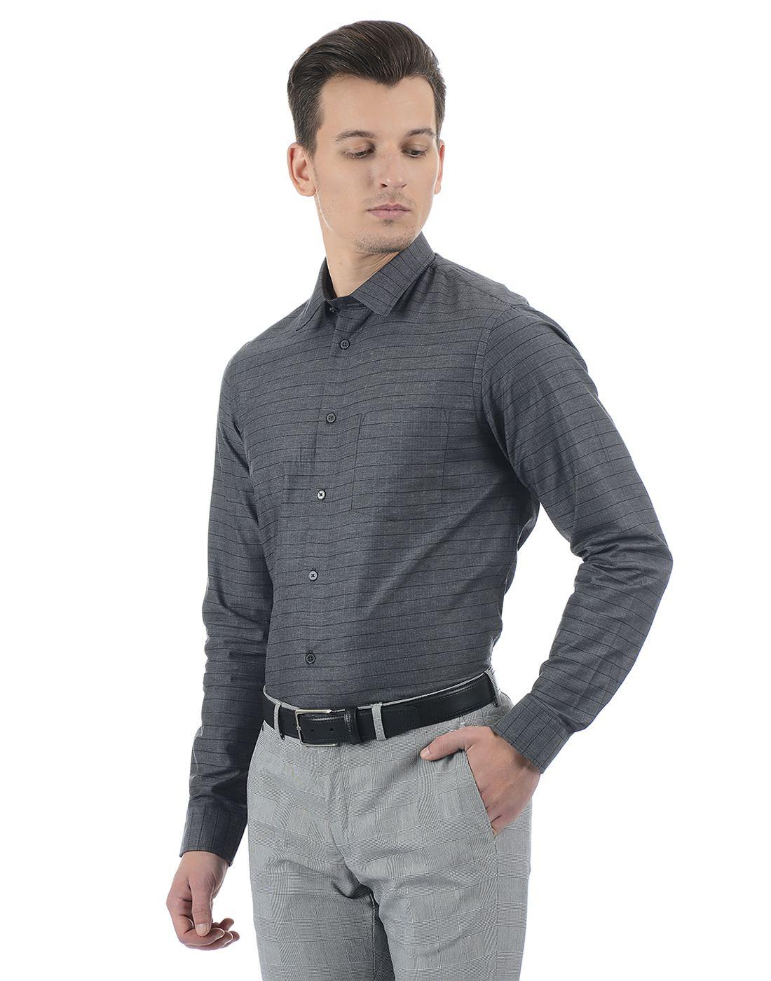 Arrow Men Formal Wear Striped Shirt