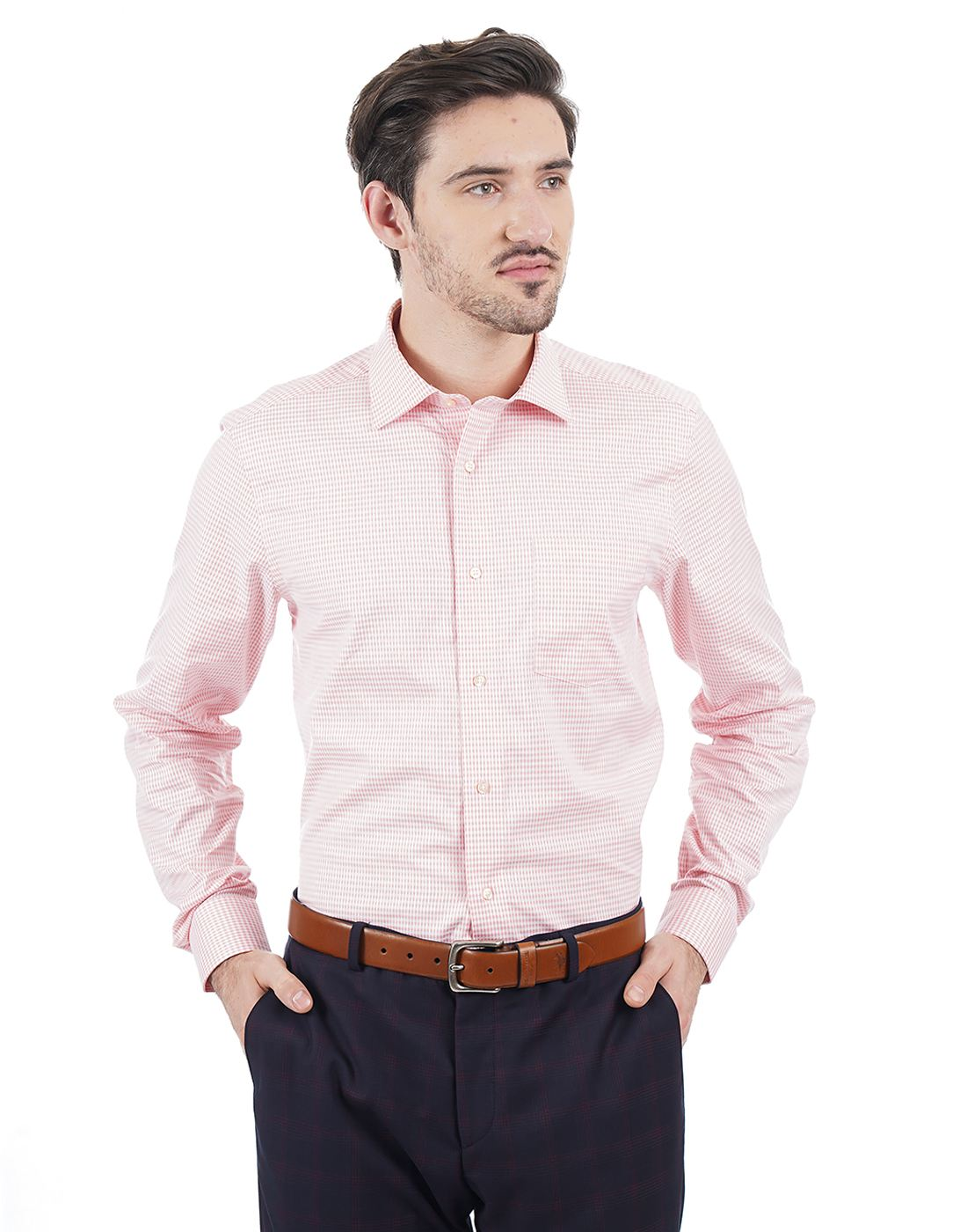 Blackberrys Men Pink Shirt