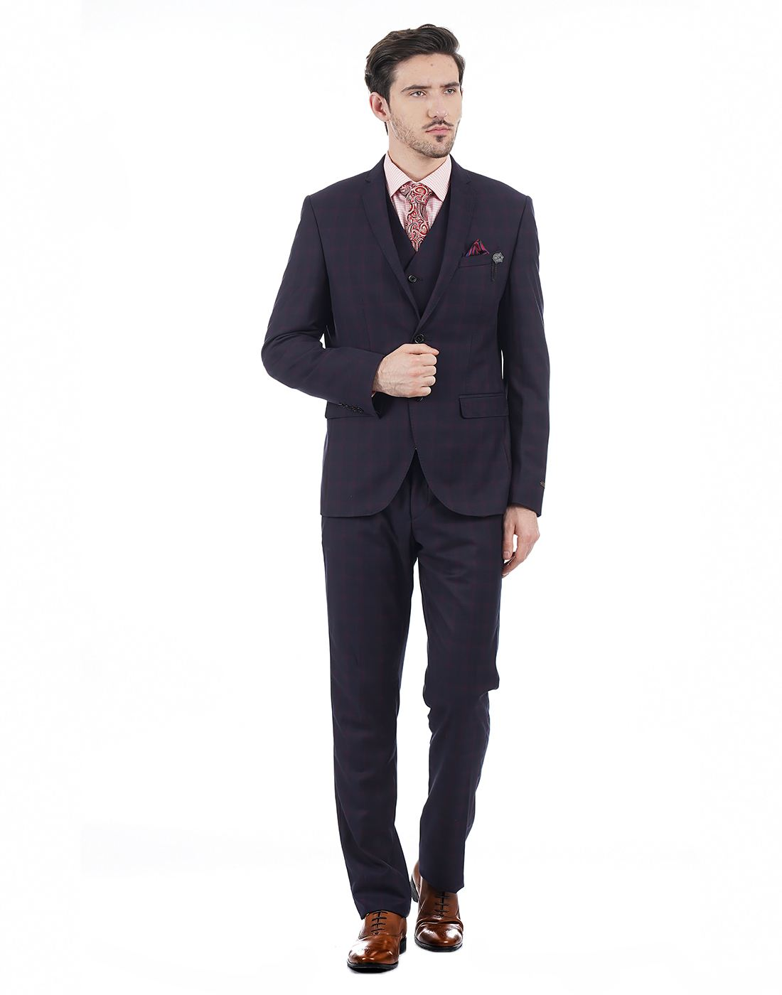 Blackberrys Men Navy Suit
