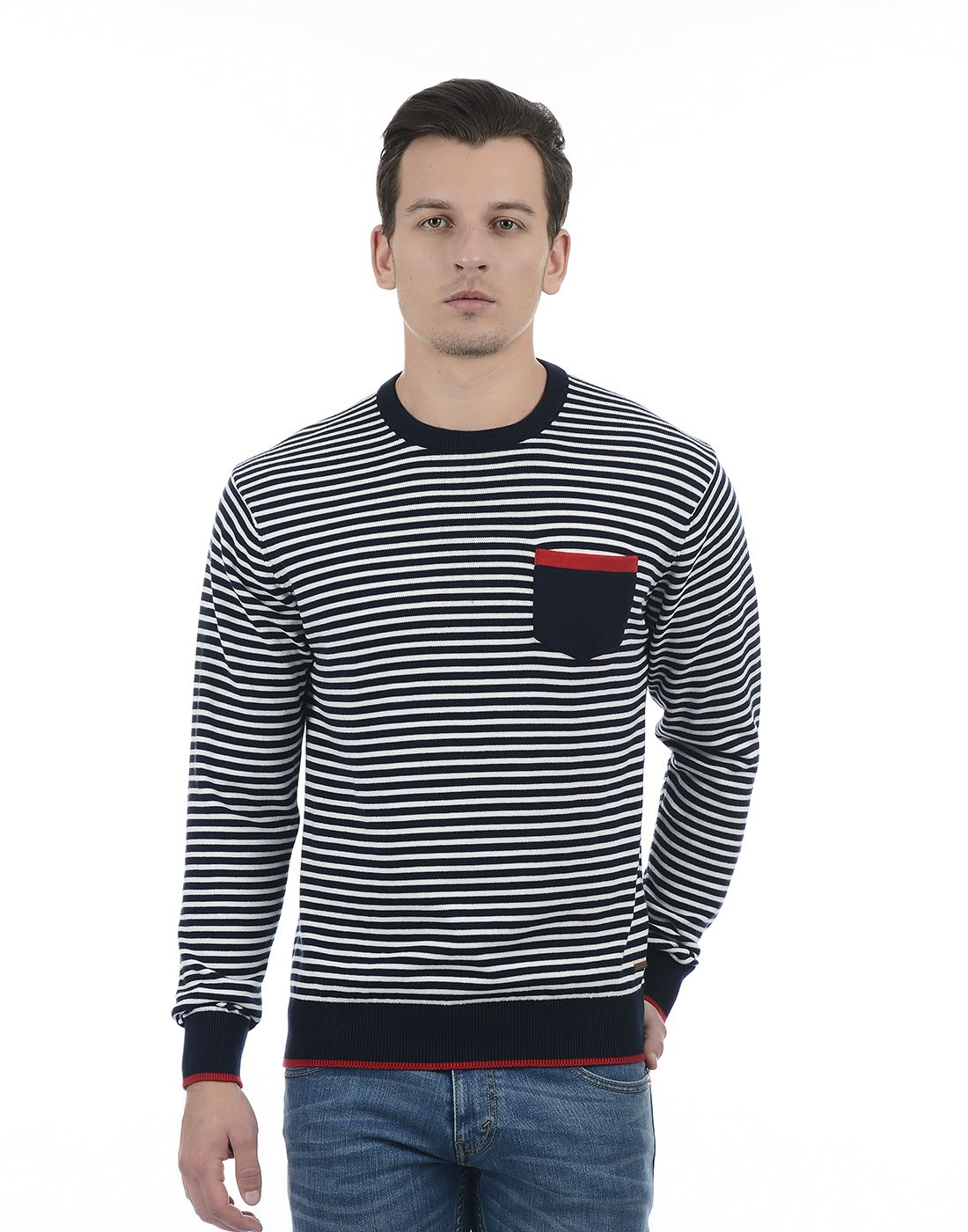 Izod Men Navy Sweater