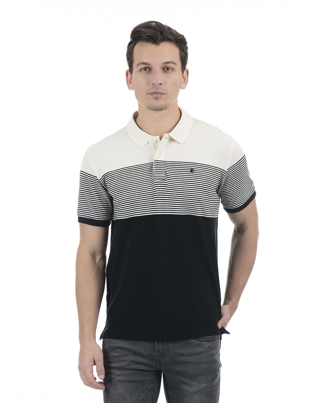 Izod Men Black T-Shirt