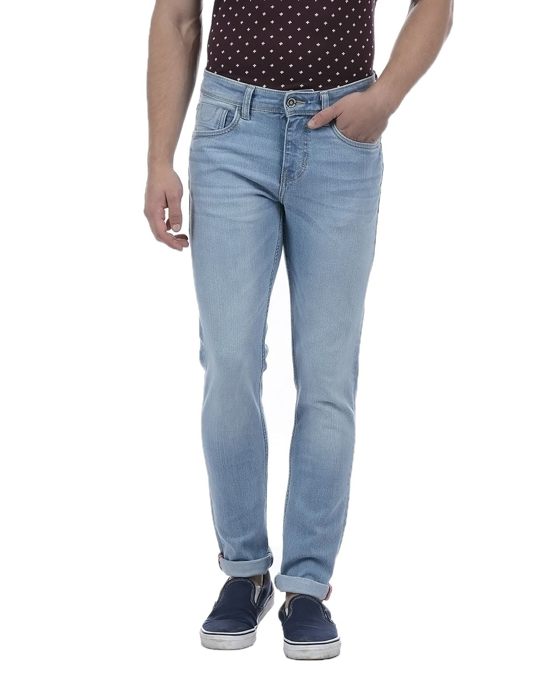 Izod Men Blue Jean