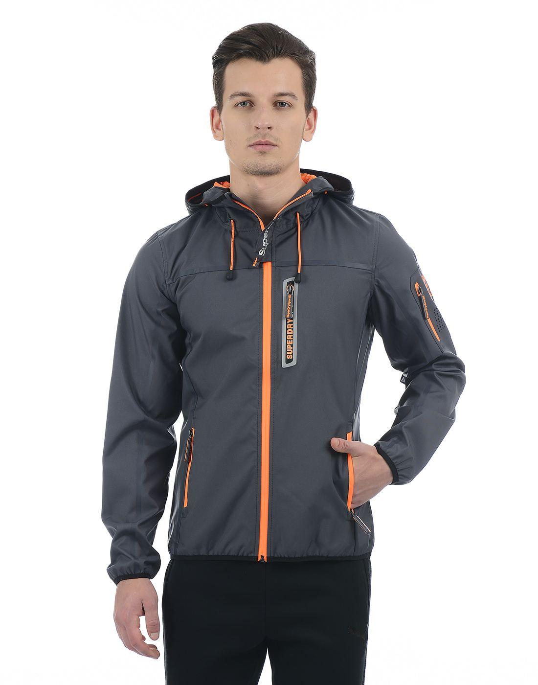 Superdry Grey Men Jacket