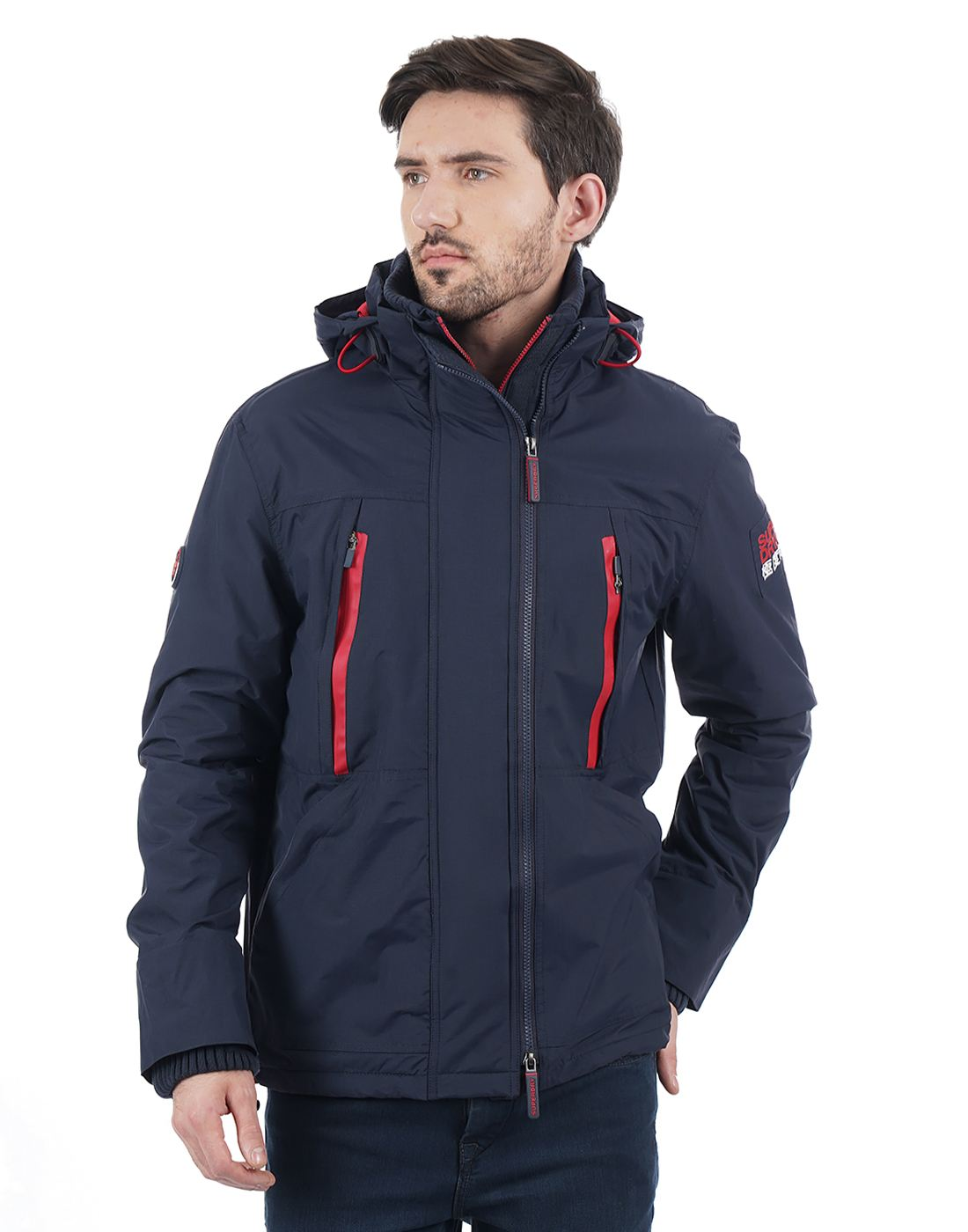 Superdry Men Navy Jacket
