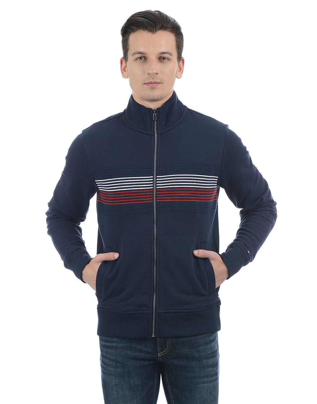 Tommy Hilfiger Men Dark Blue Sweatshirt