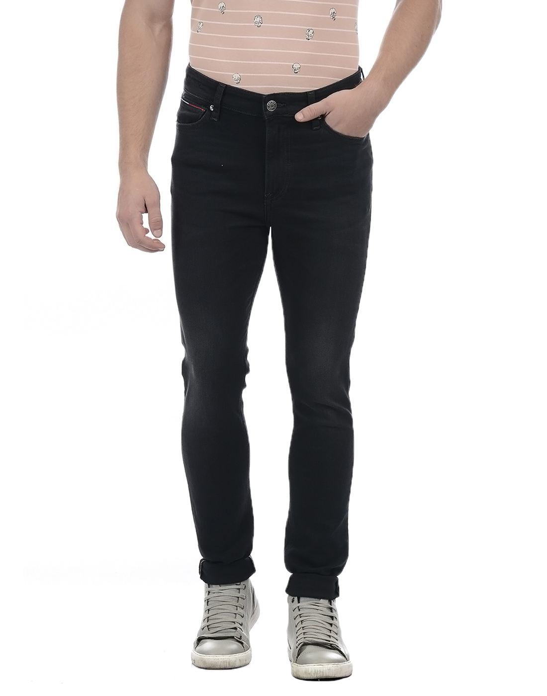 Tommy Hilfiger Men Black Jeans