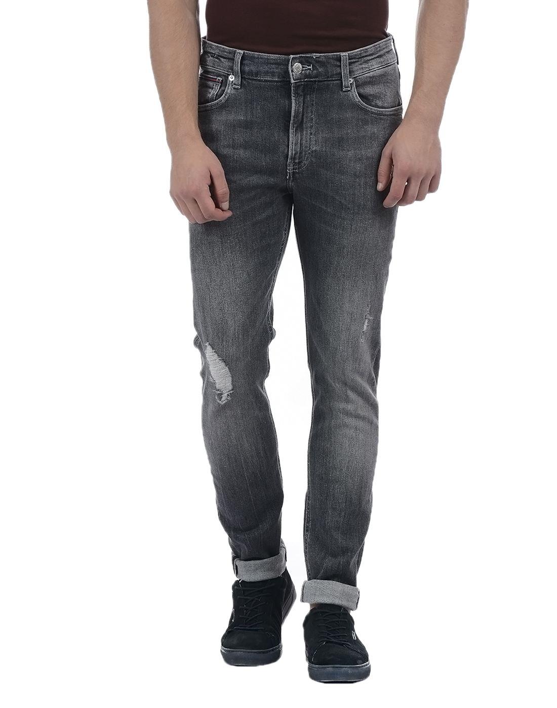 Tommy Hilfiger Men Grey Jeans