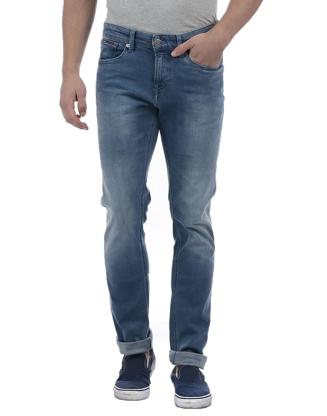 Tommy Hilfiger Men Blue Jeans