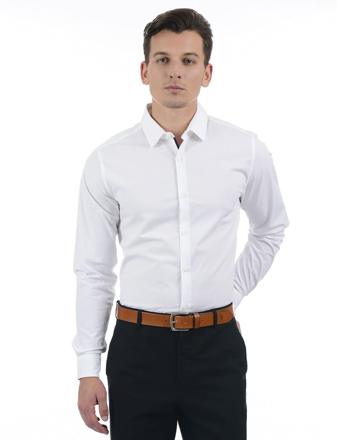 United Colors of Benetton Men White Shirt