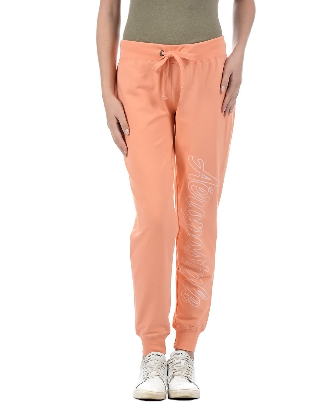 Aeropostale Women Orange Pyjama