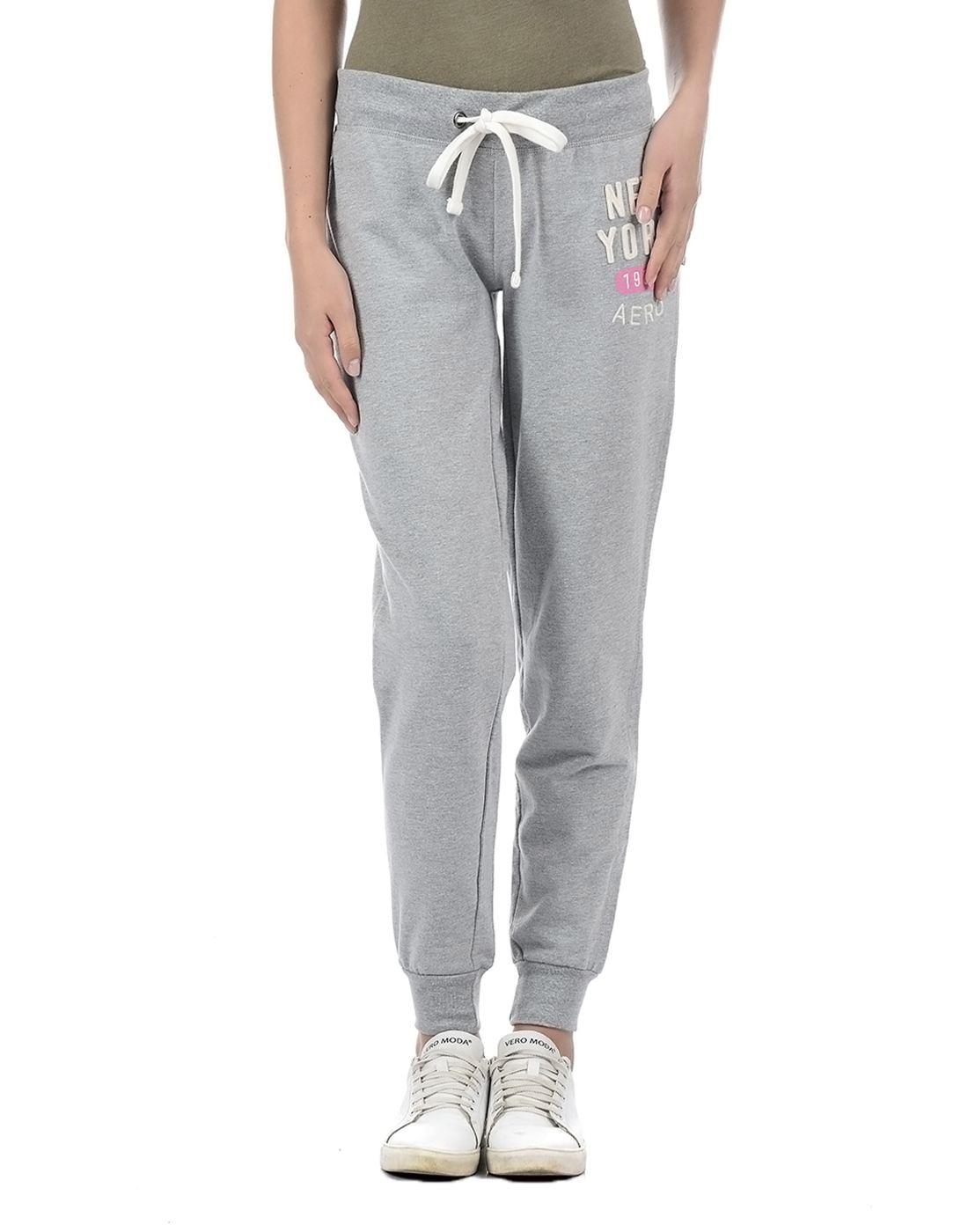 Aeropostale Women Grey Pyjama