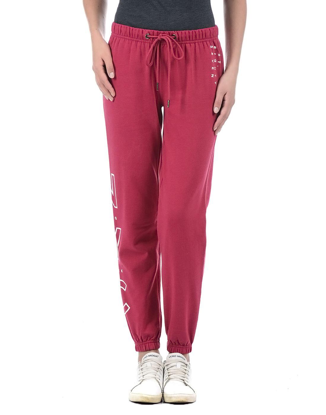 Aeropostale Women Red Pyjama