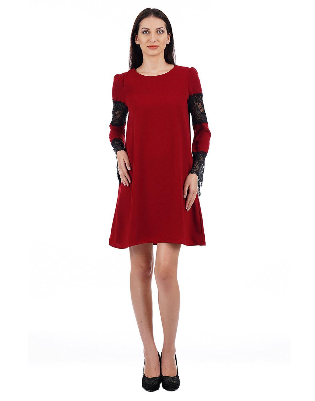 Elle Women Red Dresses