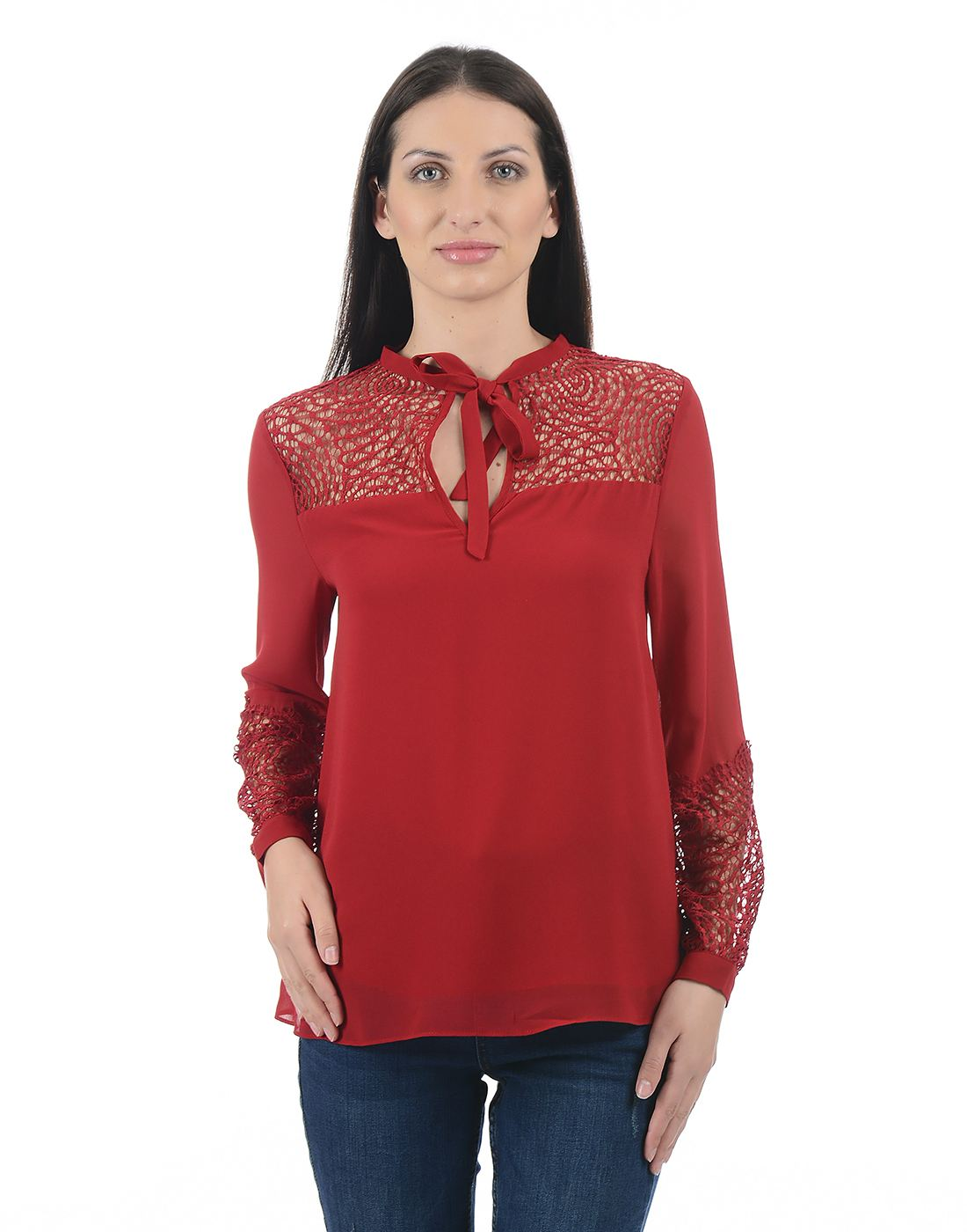 Forever New Women Red Top