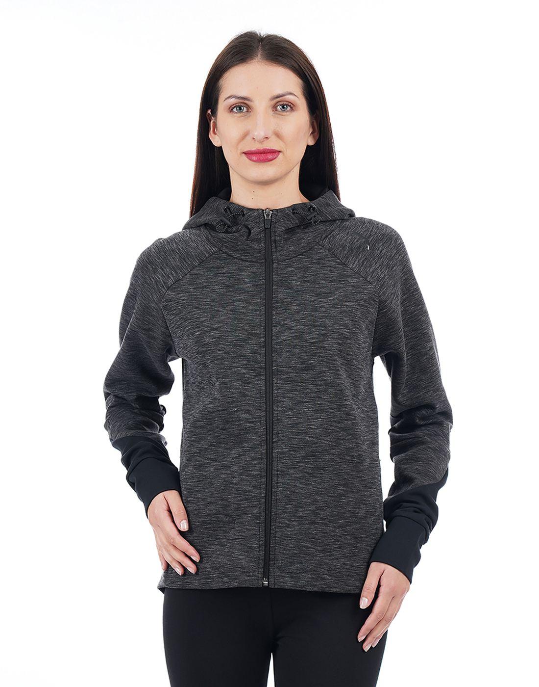 Puma Women Grey Sweatshirt