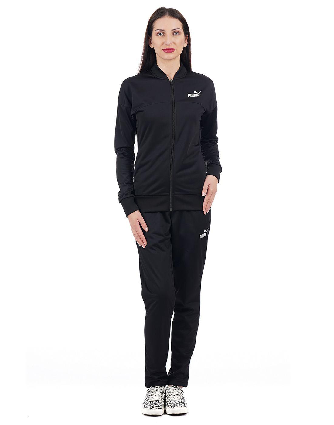 Puma Women Black Track Suit