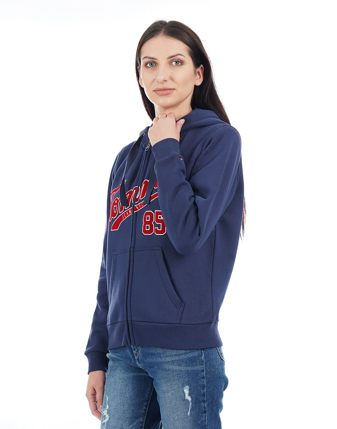 Tommy Hilfiger Women Blue Sweatshirt