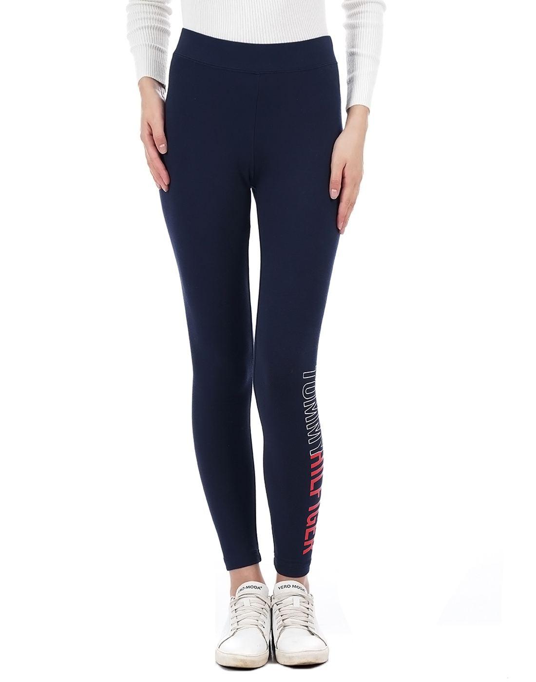 Tommy Hilfiger Women Navy Legging