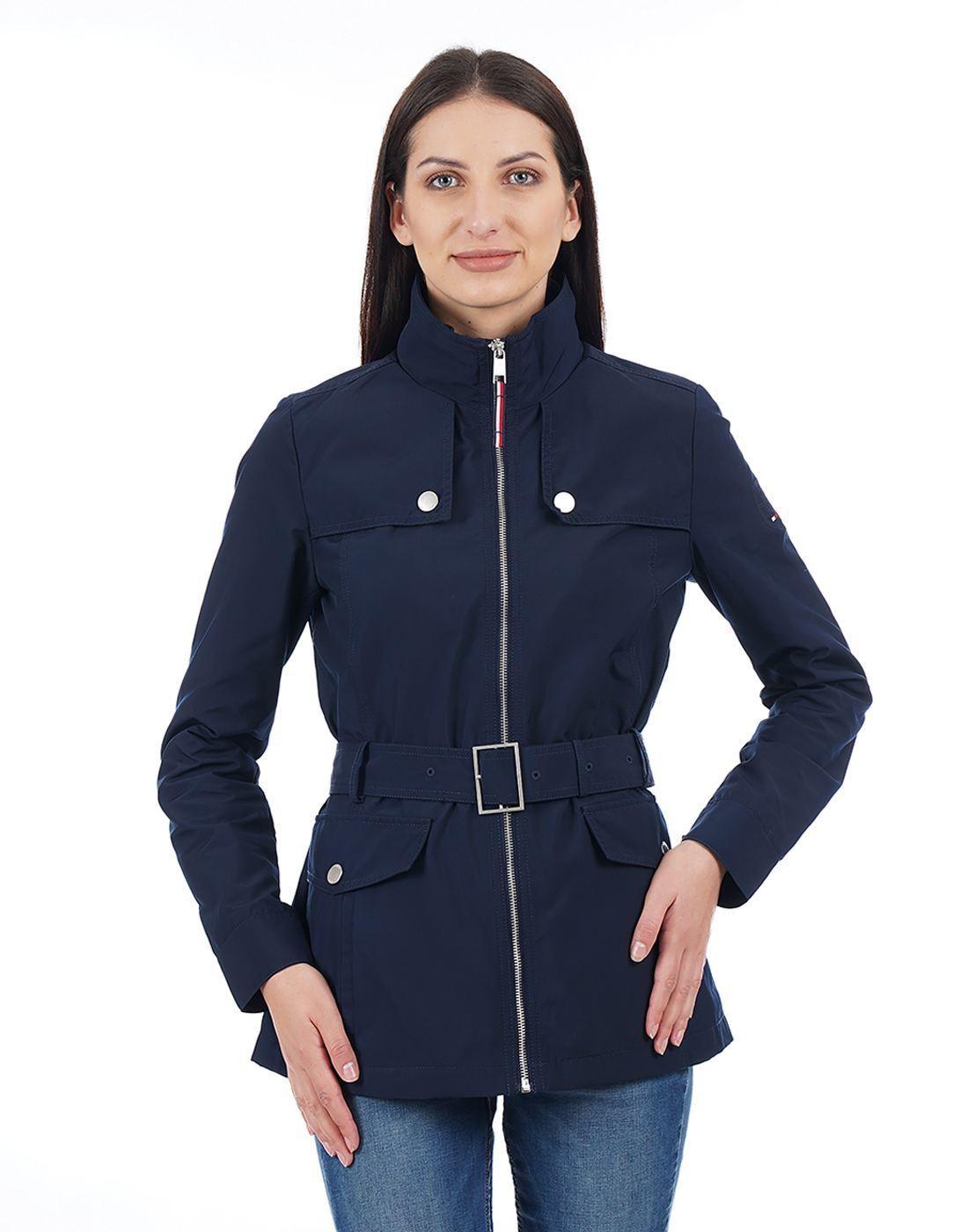 Tommy Hilfiger Women Navy Jacket
