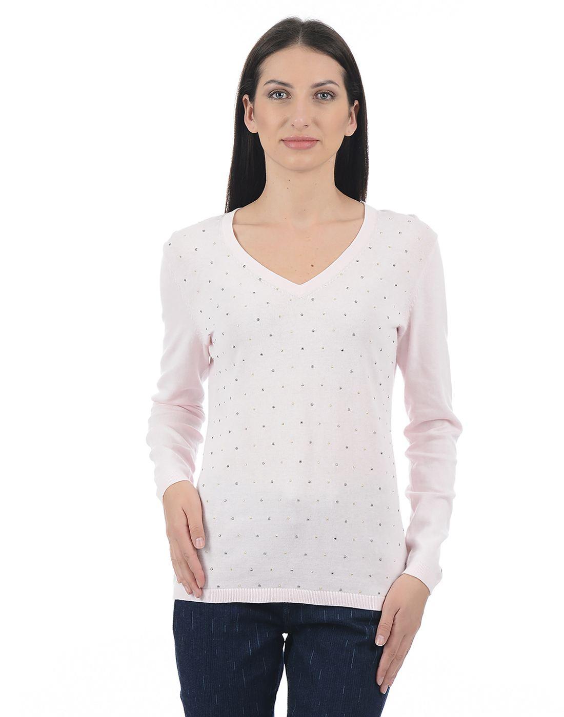 Tommy Hilfiger Women Pink Sweater