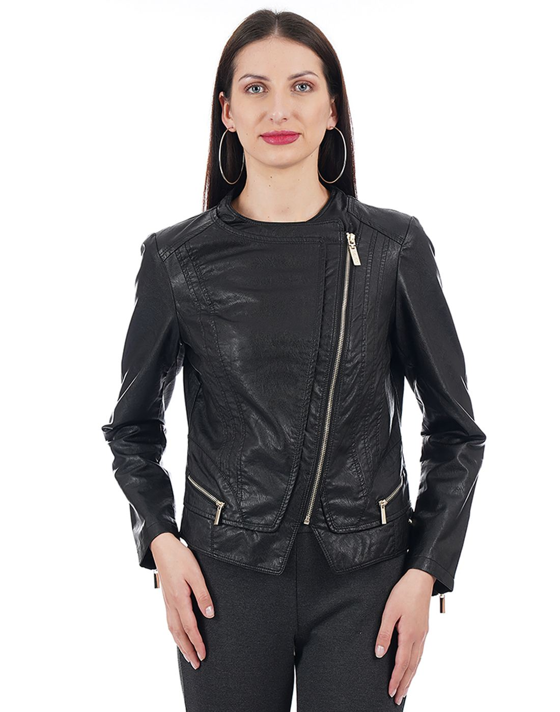 U.S. Polo Association Women Black Jacket