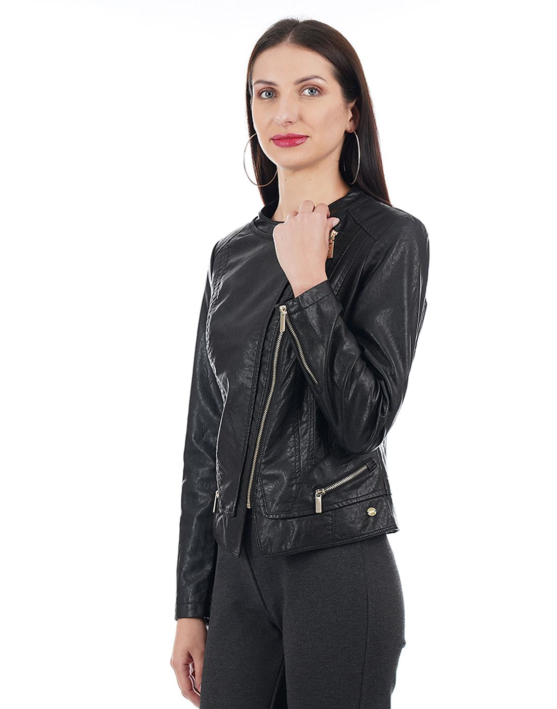 U.S. Polo Assn. Women Black Jacket