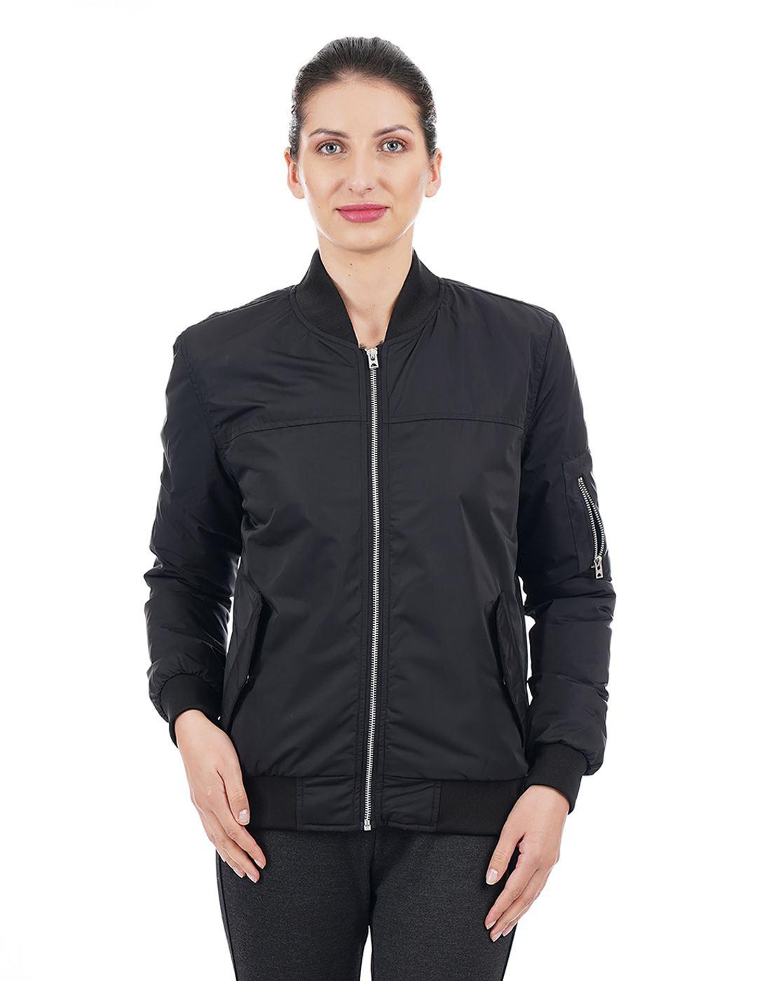 Aeropostale Women Black Sweatshirt