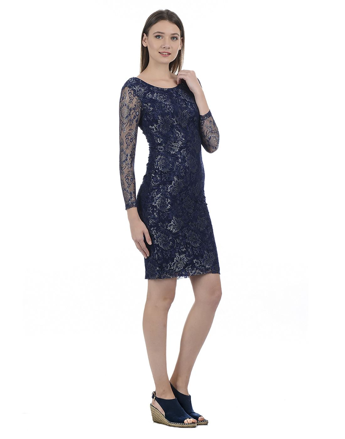 Kazo Women Dress Blue Dresses