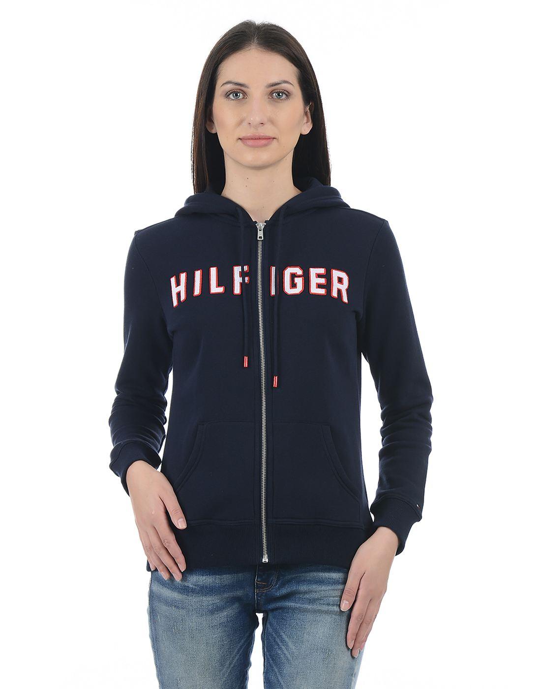 Tommy Hilfiger Women Navy Sweatshirt